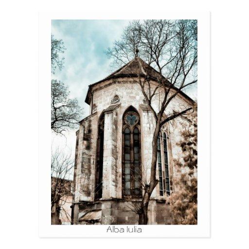 Catedral católica cartoes postais