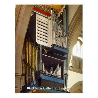 Catedral de Blackburn, cartão BRITÂNICO