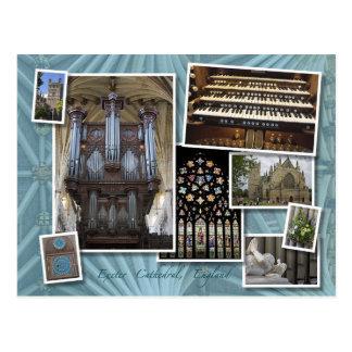 Catedral de Exeter, Reino Unido - cartão do