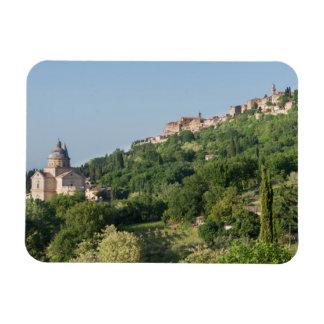 Catedral de Montepulciano e ímã da cidade