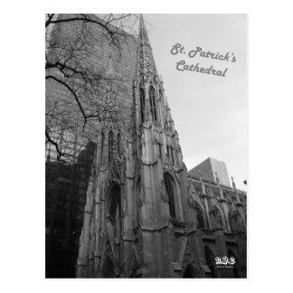 Catedral de N.Y.E St Patrick Cartão Postal