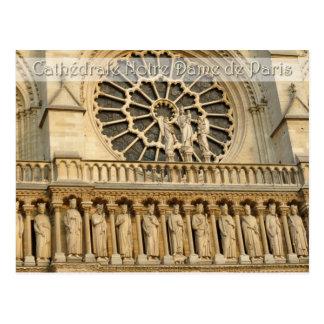 Catedral de Notre-Dame - Paris, cartão