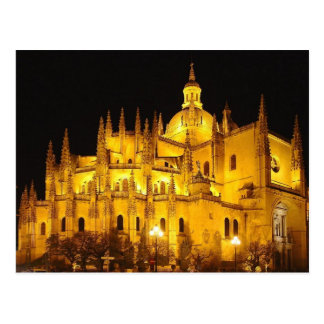 Catedral de Segovia, Espana Cartão Postal