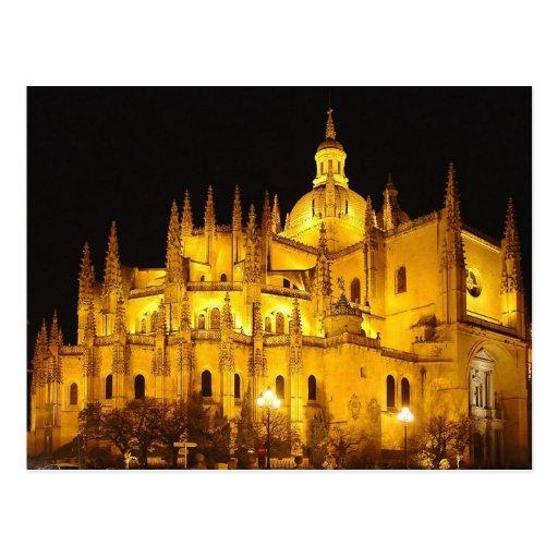 Catedral de Segovia, Espana Cartao Postal