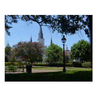 Catedral de St Louis o cartão 2 do bairro francês