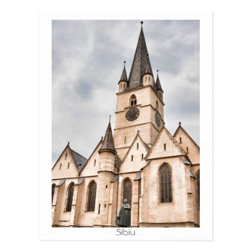 Catedral evangélica cartão postal