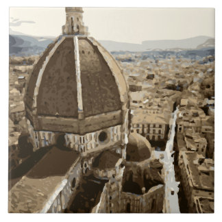 Catedral lindo do renascimento em Veneza Italia Azulejo
