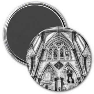 Catedral Londres de Southwark Ímã Redondo 7.62cm