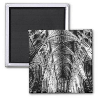 Catedral Londres de Southwark Ímã Quadrado