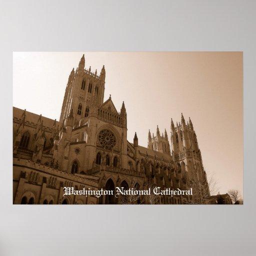 Catedral nacional poster