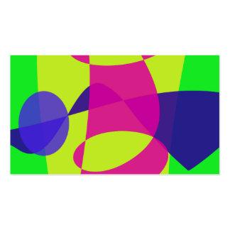 Caterpillar colorido cartao de visita