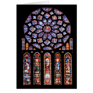 Cathdrale Notre-Dame de Chartres Cartão