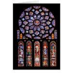 Cathdrale Notre-Dame de Chartres Cartão Comemorativo