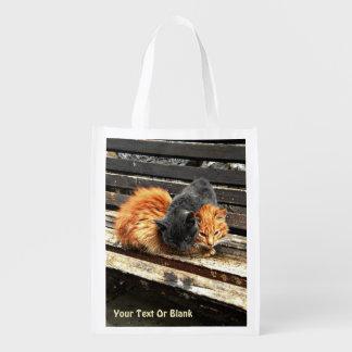 Catnap Cuties Sacolas Ecológicas