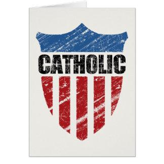 Católico Cartão Comemorativo