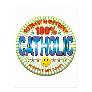 Católico totalmente cartões postais