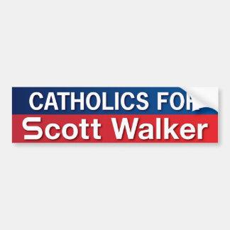 Católicos para o caminhante de Scott Adesivo Para Carro