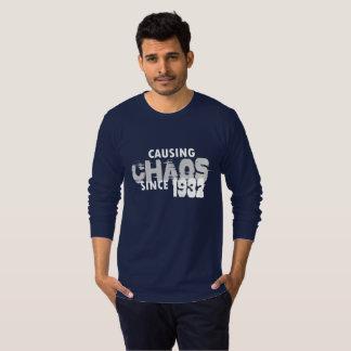 Causando a camisa do presente de Bday do t-shirt