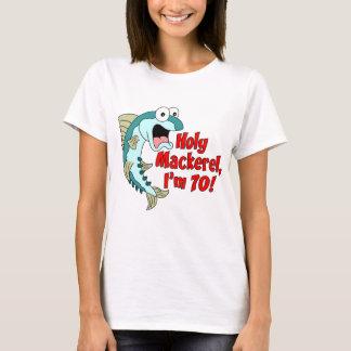 Cavala santamente eu sou 70 camiseta