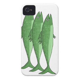 Cavala - verde capa para iPhone 4 Case-Mate