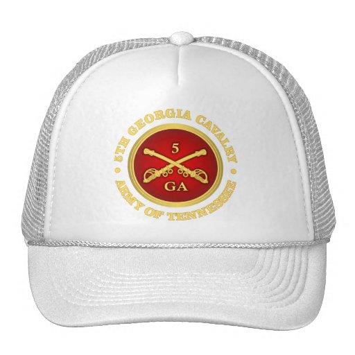 Cavalaria de CSC -5th Geórgia Bonés