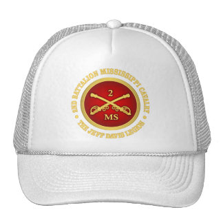 Cavalaria de Mississippi do batalhão de CSC -2nd Boné