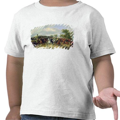 Cavalaria prussiano na expedição, c.19th t-shirt