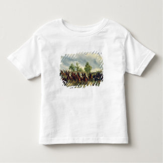 Cavalaria prussiano na expedição camiseta infantil