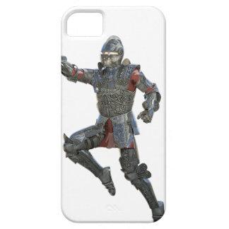 Cavaleiro com Mace que pula à direita Capas Para iPhone 5