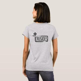 Cavaleiro das cruzadas camiseta