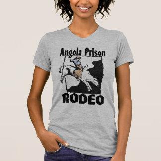 Cavaleiro de Bull do rodeio da prisão de Angola Tshirts