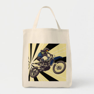 Cavaleiro de Motorcross Bolsa Tote