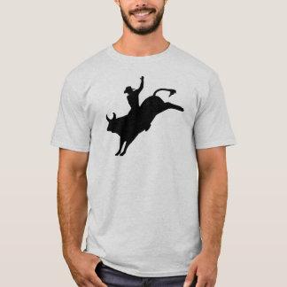 Cavaleiro de rodeio camiseta