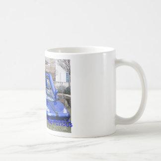 cavaleiro, demasiado rápido, demasiado furioso caneca de café