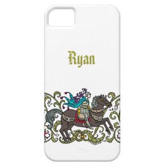 Cavaleiro do vintage capa para iPhone 5