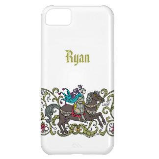 Cavaleiro do vintage personalizado capa para iPhone 5C