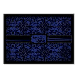 Cavaleiro escuro SD Notecard Cartão De Visita Grande