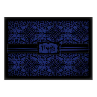 Cavaleiro escuro TY Notecard Cartão De Visita Grande