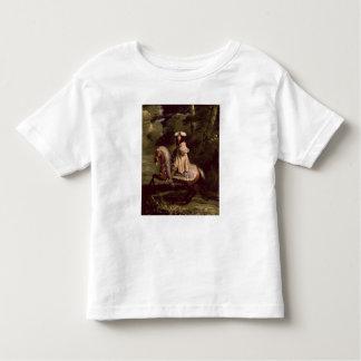Cavaleiro no azul camiseta infantil