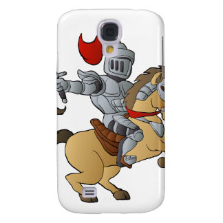 Cavaleiro no cavalo galaxy s4 cover
