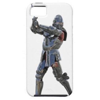 Cavaleiro que anda à direita com mace capa tough para iPhone 5
