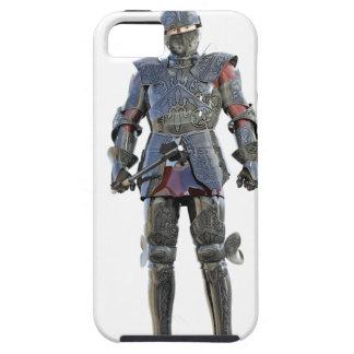 Cavaleiro que está e que olha para a frente capa tough para iPhone 5