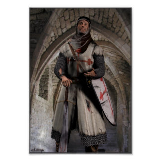 Cavaleiro Templar - o último suporte Pôster
