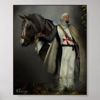Cavaleiro Templar Poster