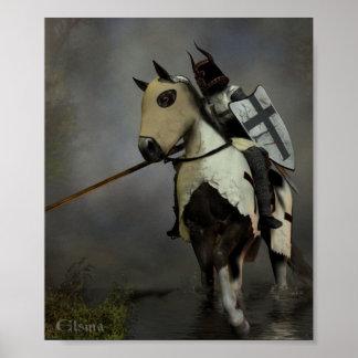 Cavaleiro Teutonic Poster