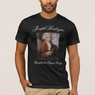 CAVALEIROS de ST GEORGE de JOSEPH BOULOGNE Camiseta