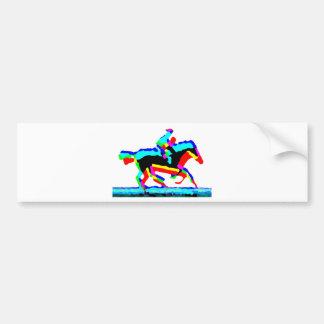Cavaleiros do cavalo adesivo para carro