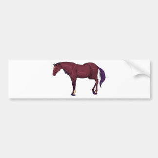 cavalo adesivo para carro