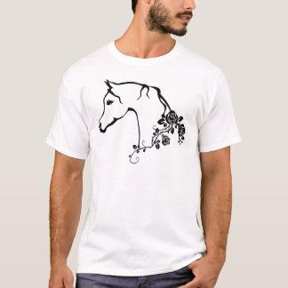 Cavalo árabe camiseta