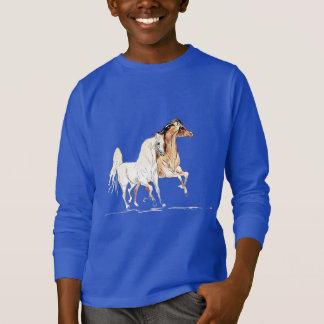 Cavalo árabe TR Camiseta